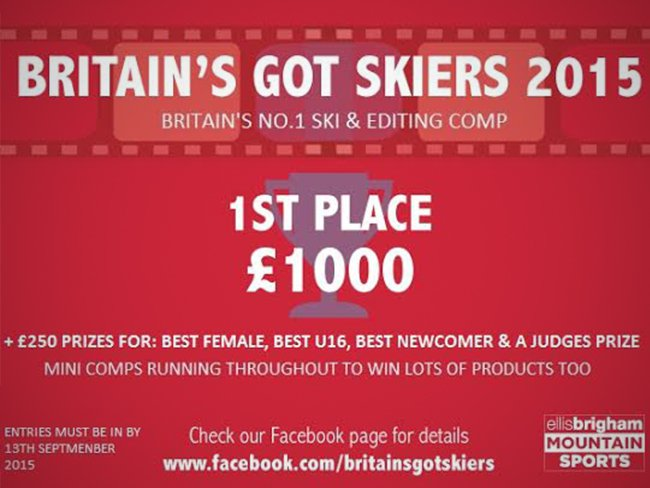 Britain's Got Skiers - Open for Submissions