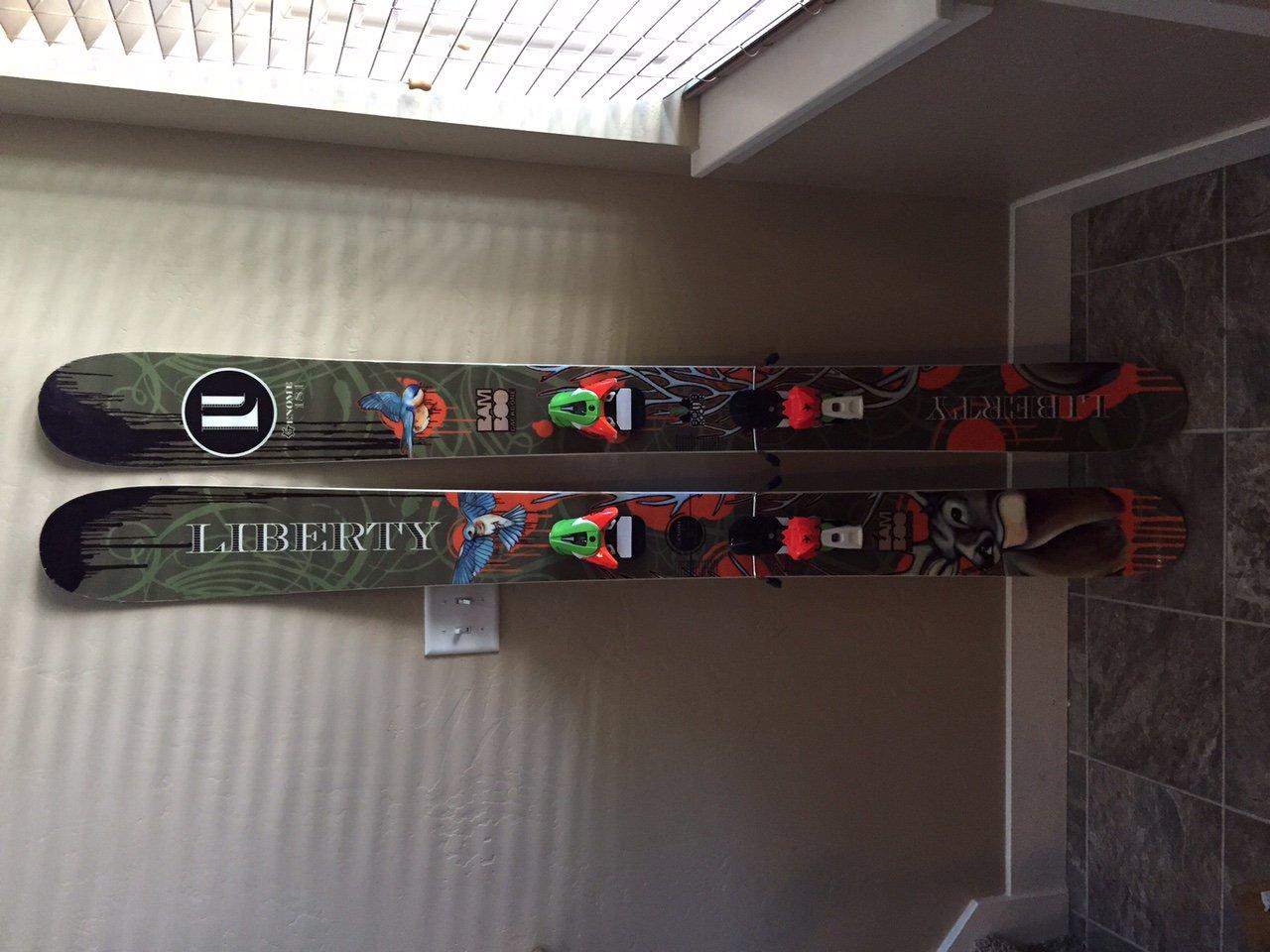 FS: Liberty Genome skis