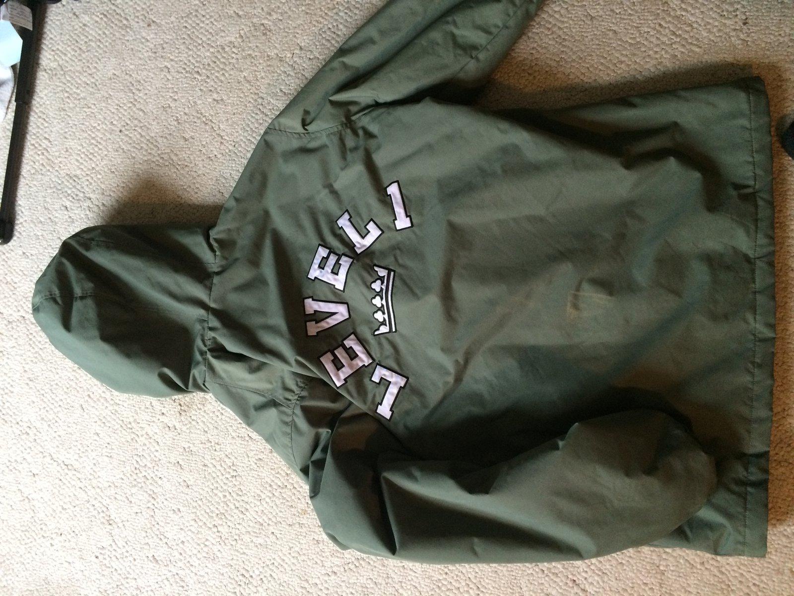 level 1 jiberish jacket