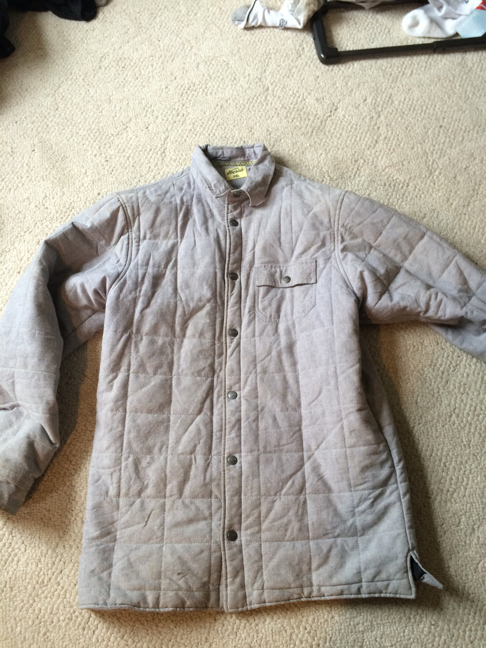 xl jiberish workers jacket