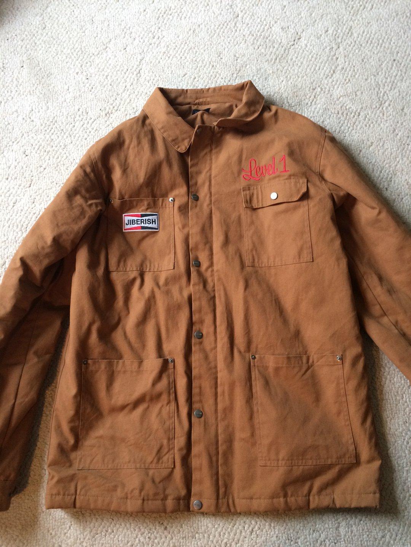 level 1 jiberish carheart jacket