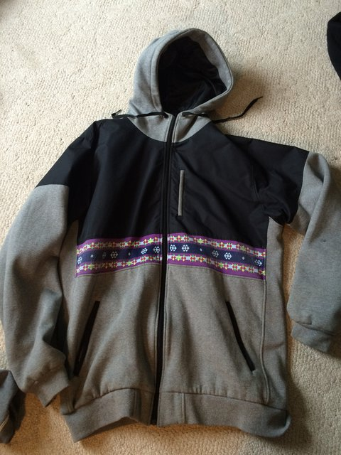 xxl jiberish jacket/ hoody
