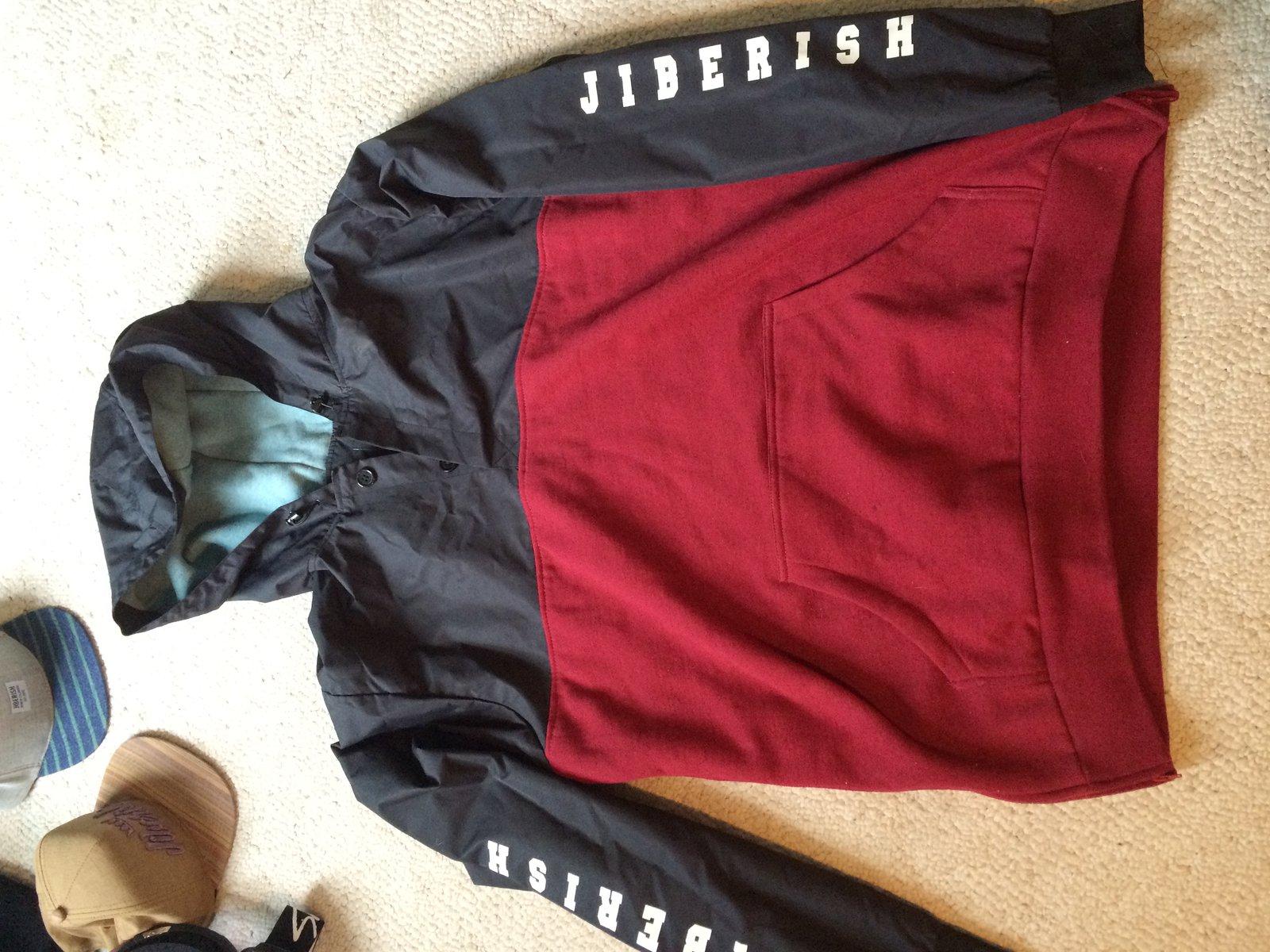 xxl jiberish hoody/ jacket