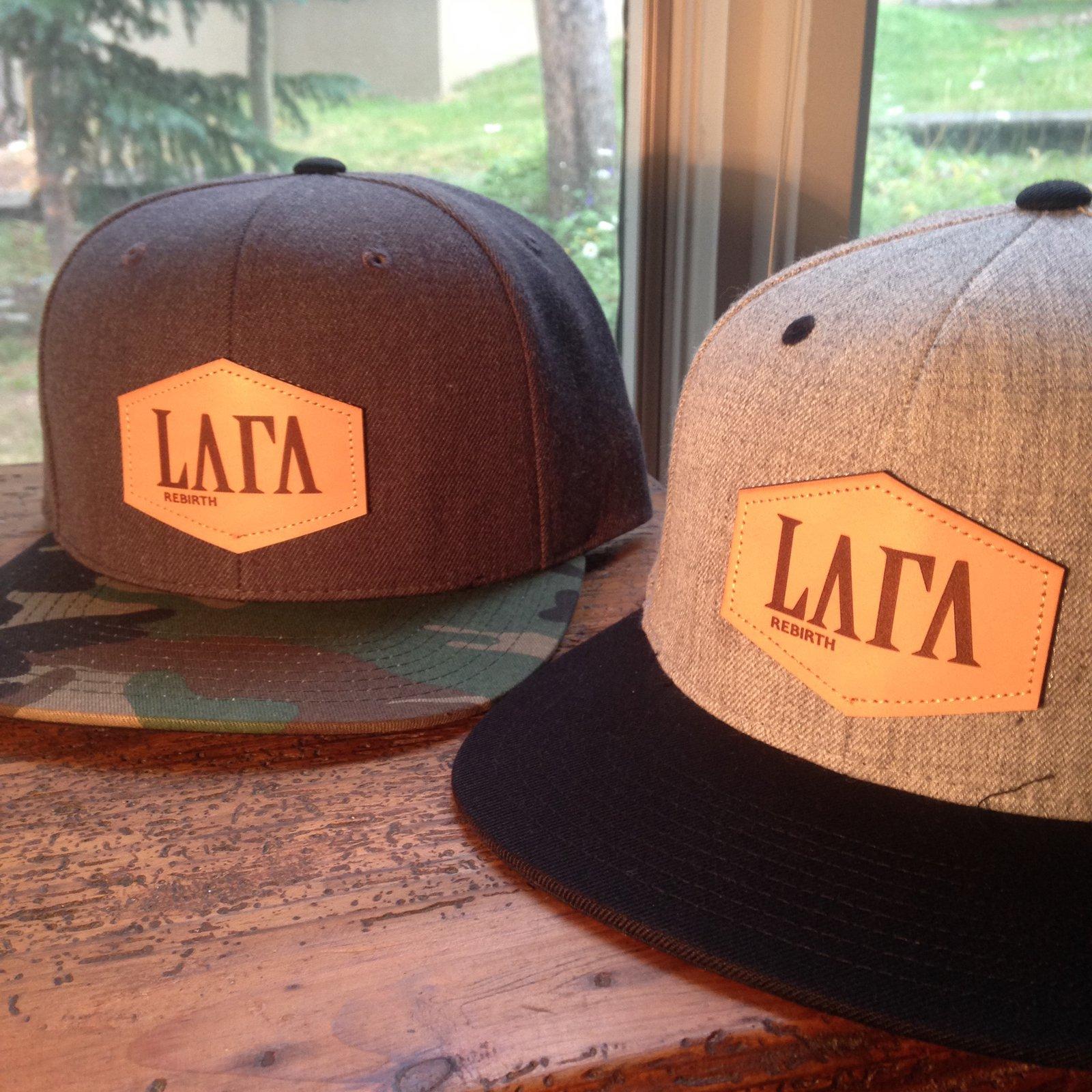 "New La Fa ""Rebirth"" snapbacks"