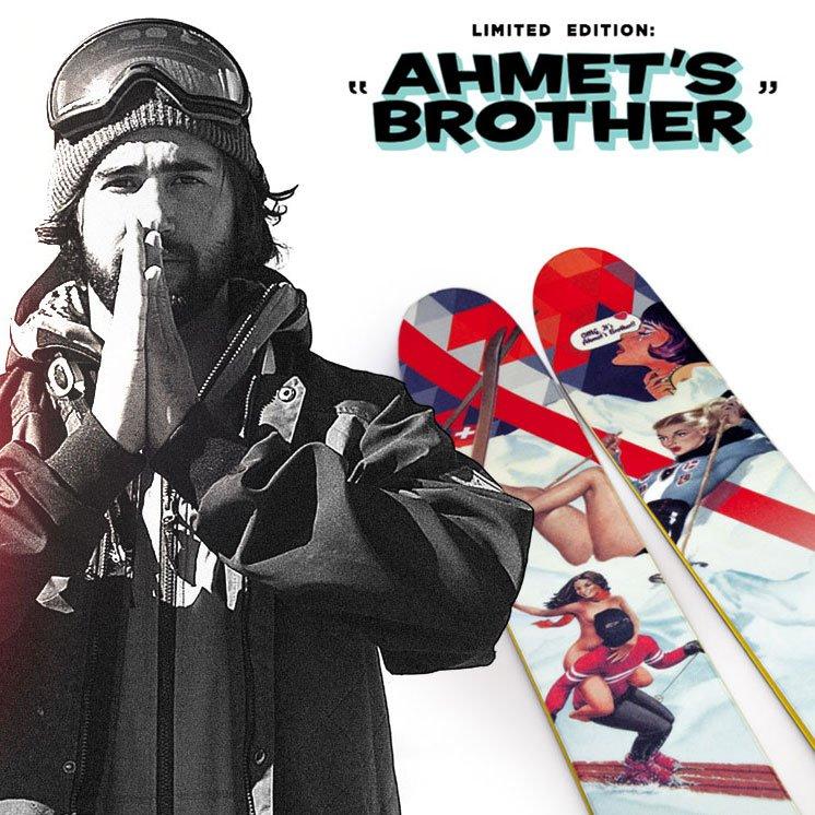 Ahmet's Brother J ski