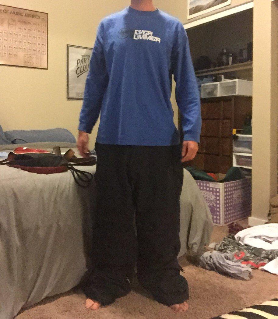 """xxl on 5' 11"""""""