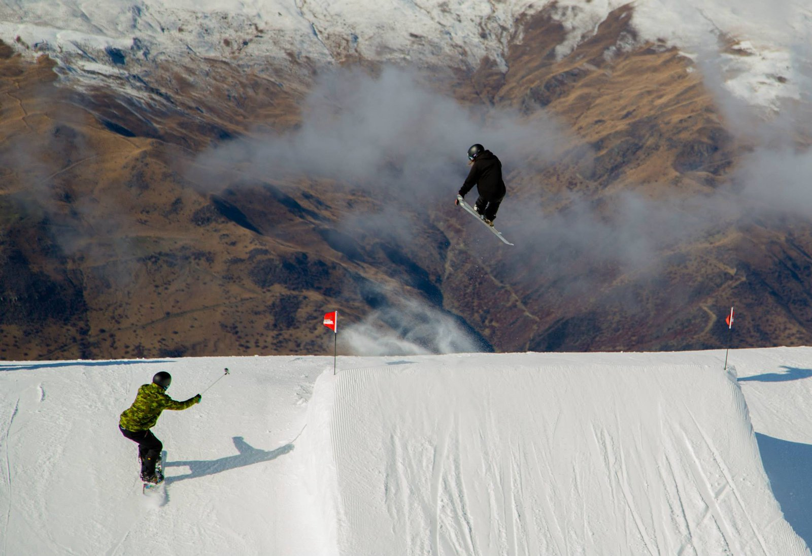 Followcam in Cardrona, NZ
