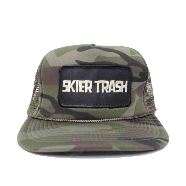 CLASSIC PATCH TRUCKER HAT - STANDARD CAMO