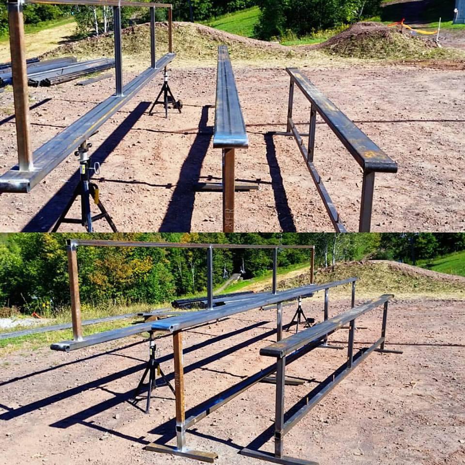 New Flat Rails