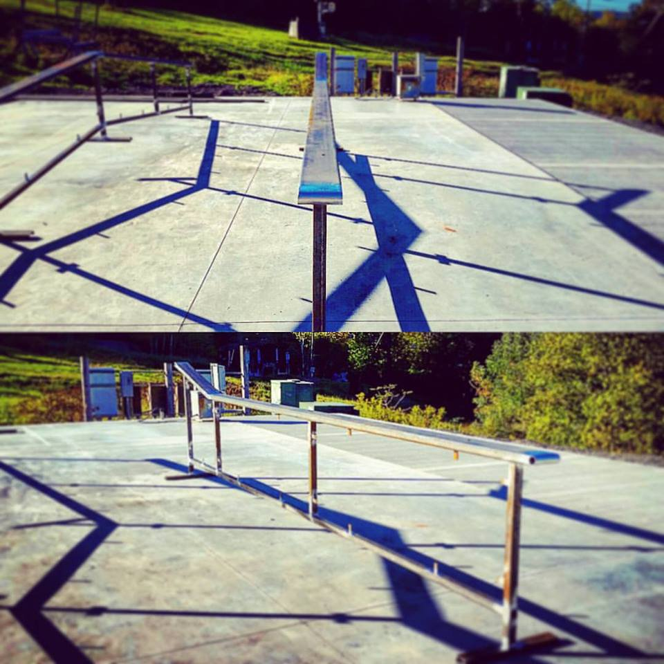 Flat Up Rail