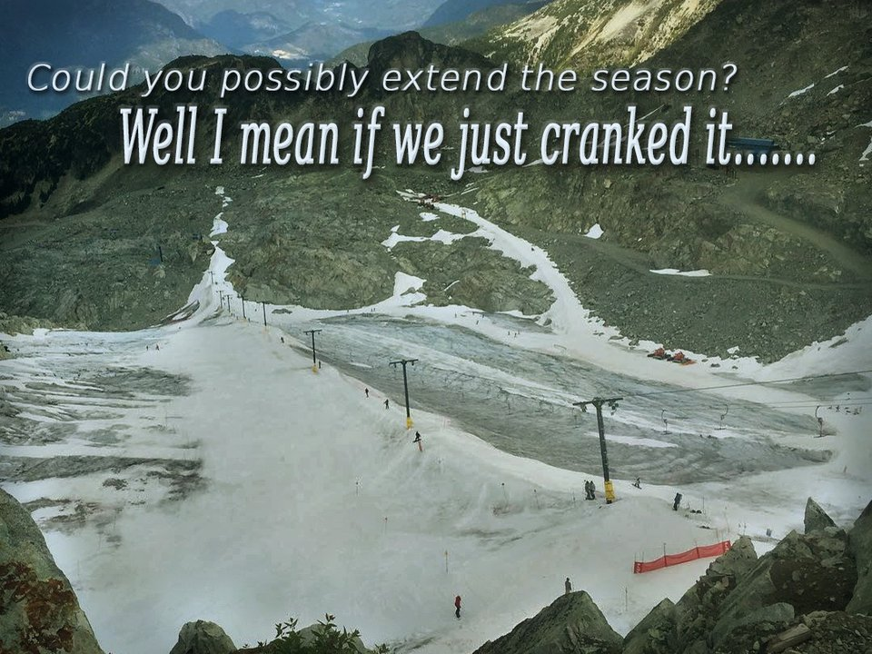 Can Whistler Save Summer Skiing?