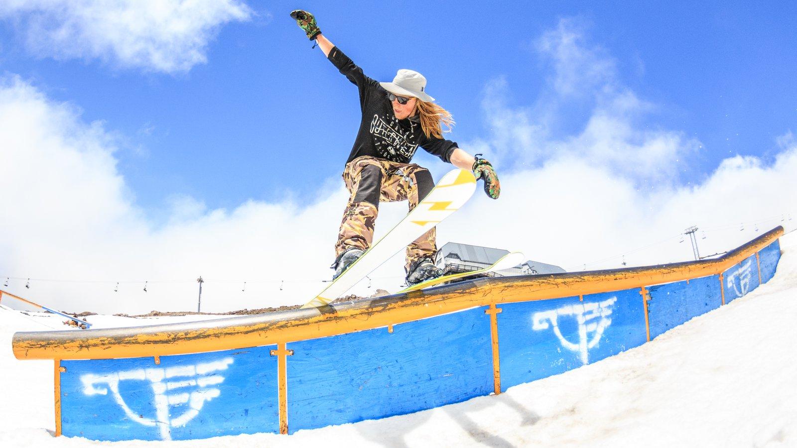 Callaghan Skier Filmer Extraordinaire