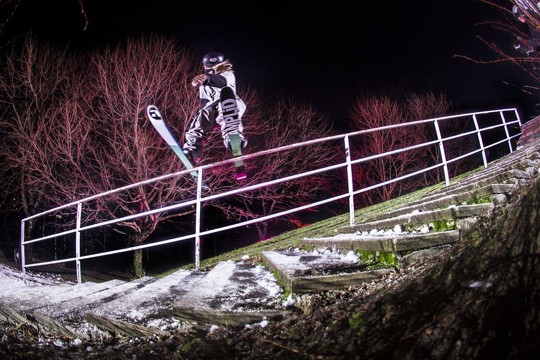 Kevin @ Autumn rail