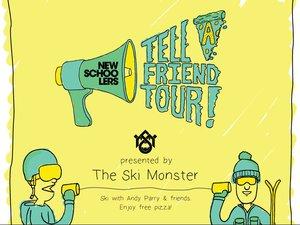 Tell A Friend Tour UK - Starts Wednesday!