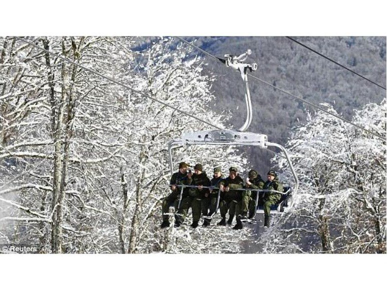 Russia Building Europe's Highest Ski Lift In Terrorism Zone