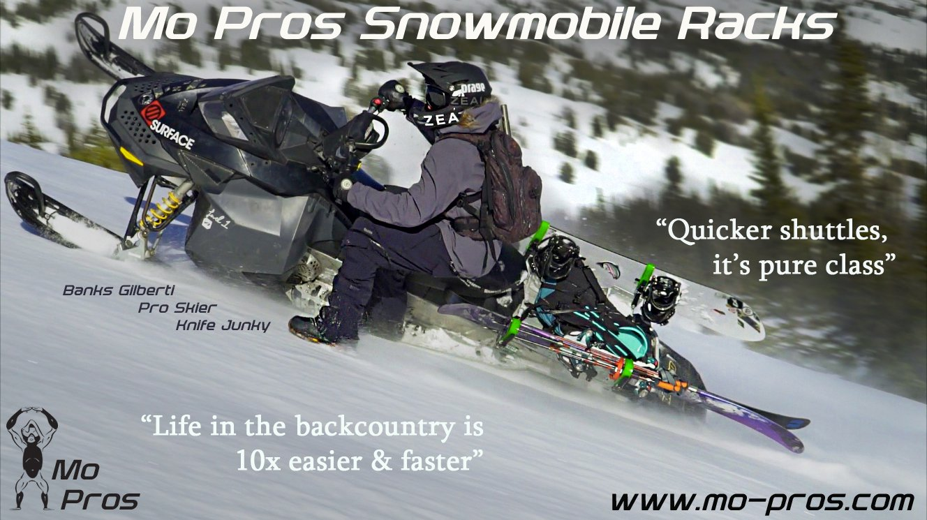 Mo Pros Snowmobile Ski Rack