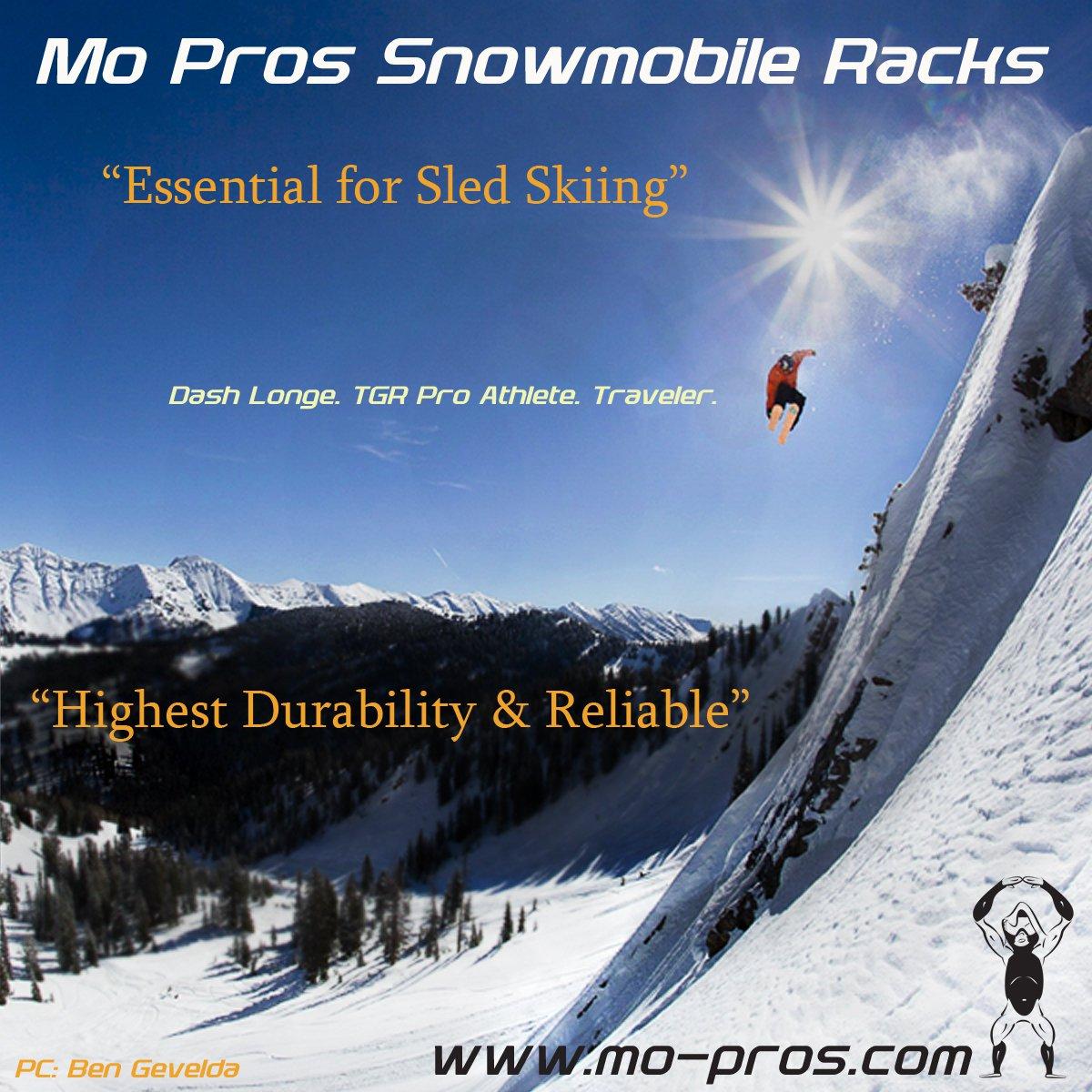 Mo Pros Snowmobile Ski Rack