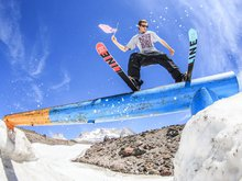 Andy Parry Signs With Shred Optics and Slytech