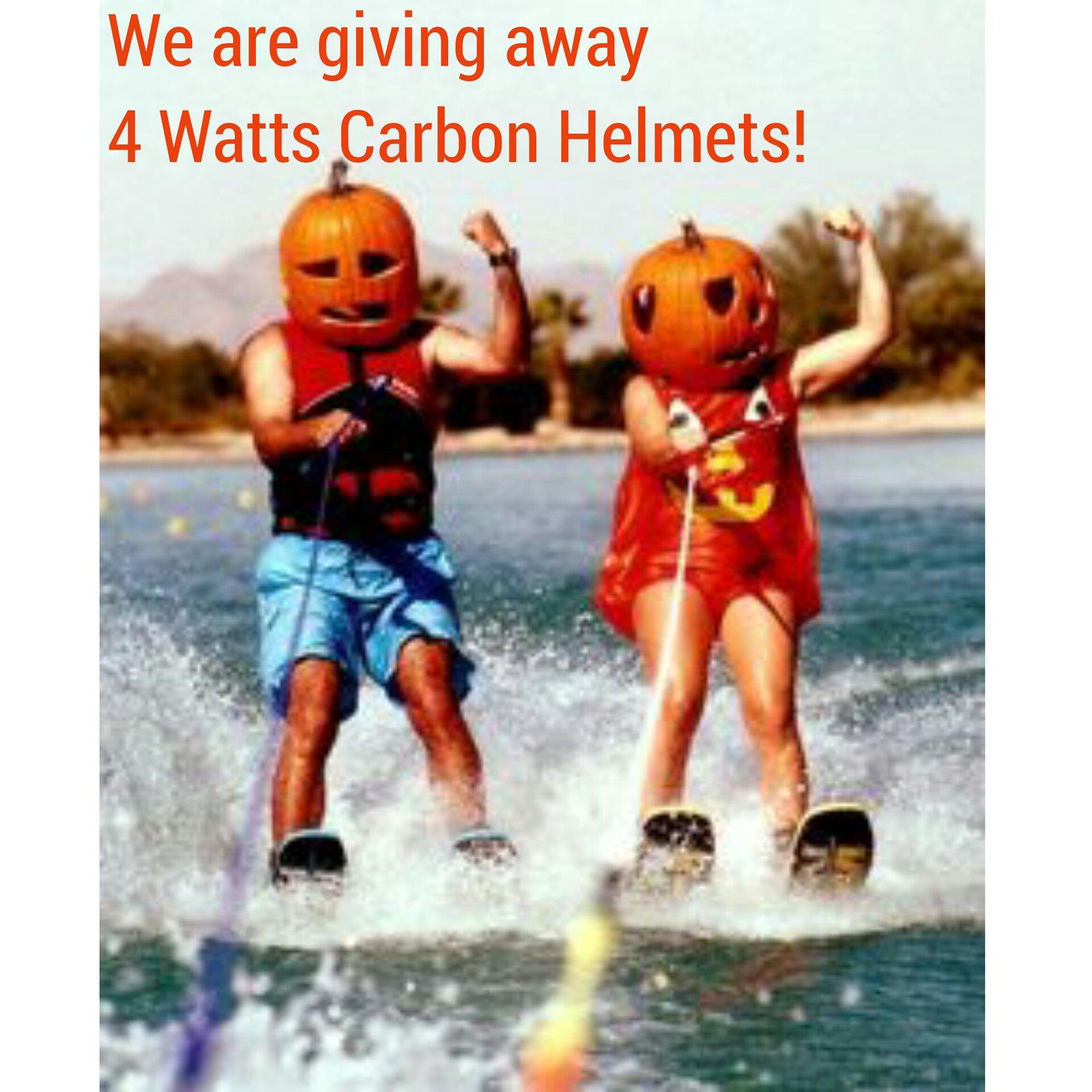 Pumpkin Spice Helmet Challenge