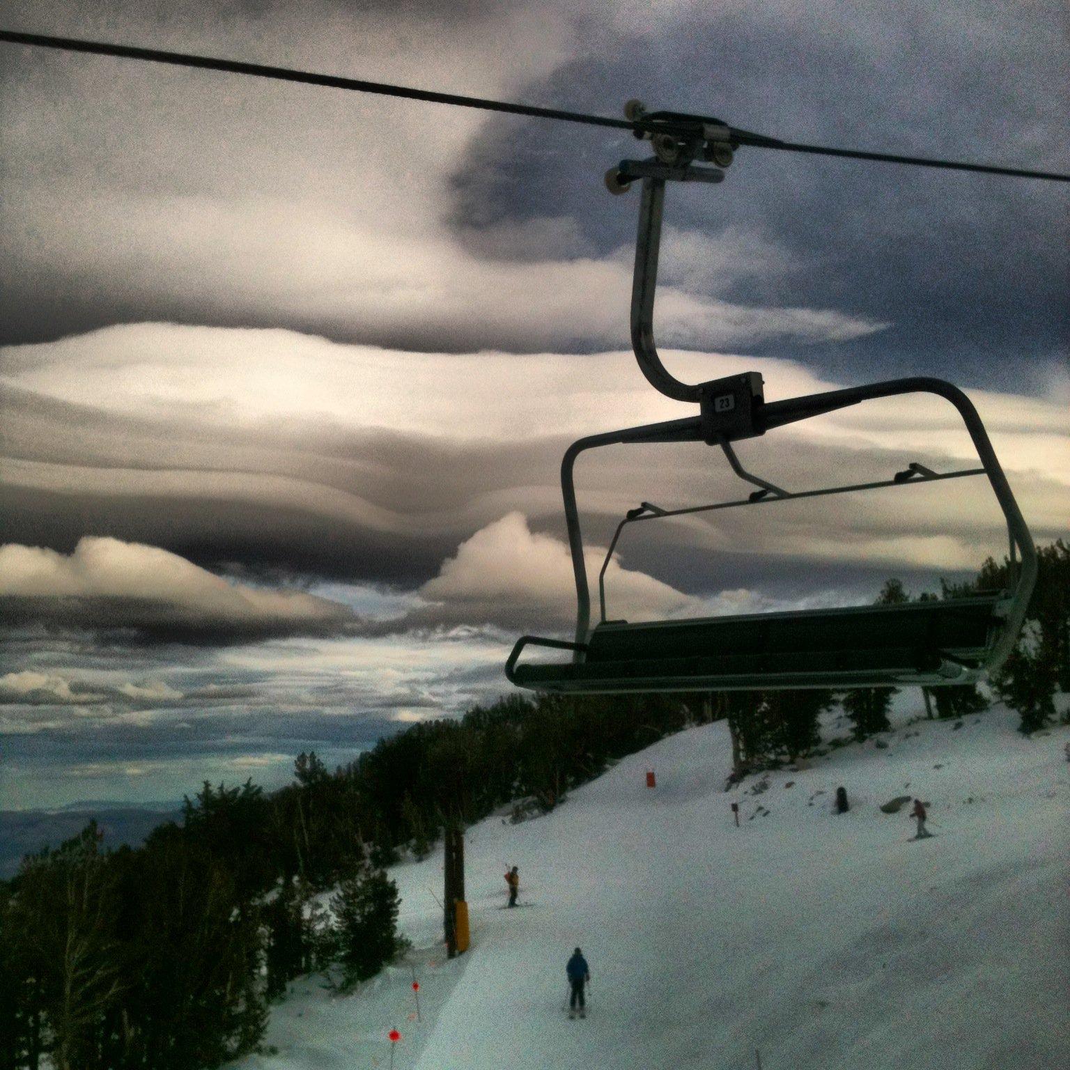 Mustache Clouds