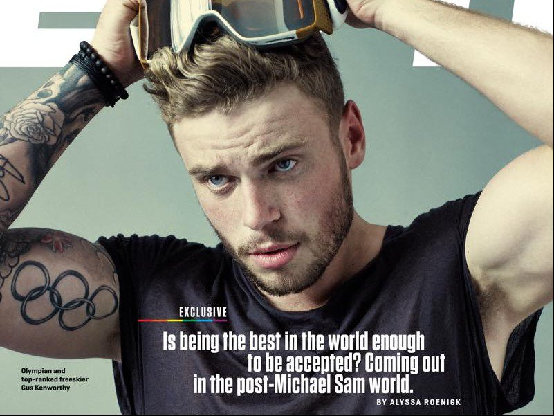 Gus Kenworthy Comes Out As Gay