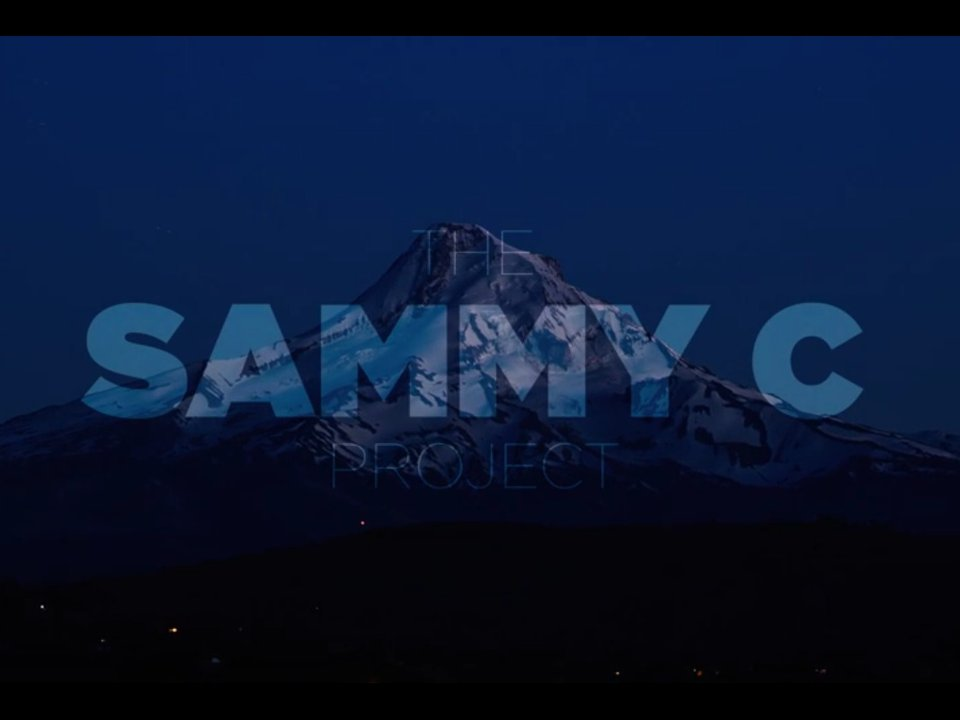Sammy C Project Trailer
