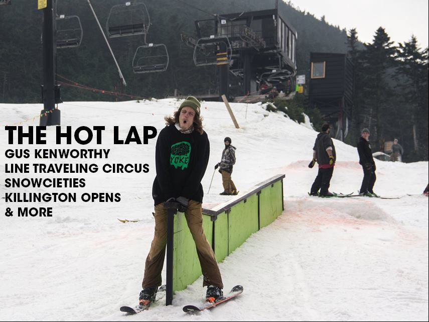 The Hot Lap: Gus Kenworthy, Wizard Wax, Snowcieties, LTC, & More