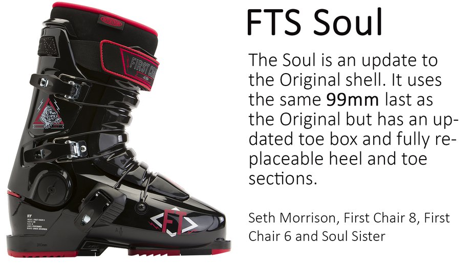 The Soul And Original Offer Same Overall Fit But Has Been Updated To Meet Demands Of Modern Skiers For Most Part If You Into