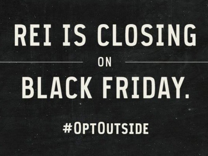 REI Not Participating In Black Friday #OptOutside