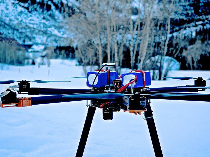 Company Wants To Use Drones For Avalanche Control