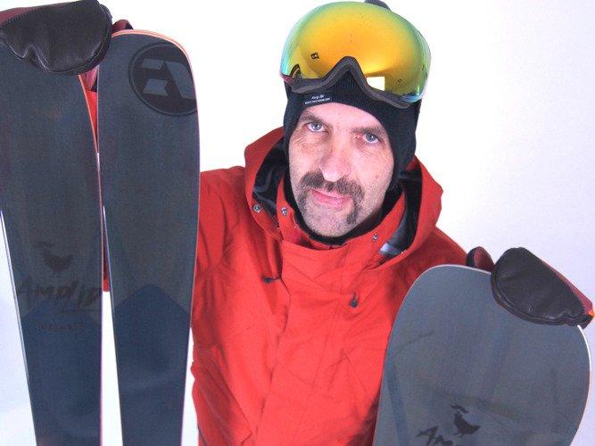 Amplid X Movember - Limited Edition Ski