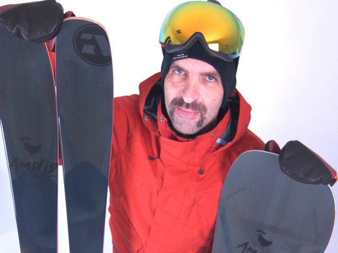 Amplid X Movember - Limited Edition Ski
