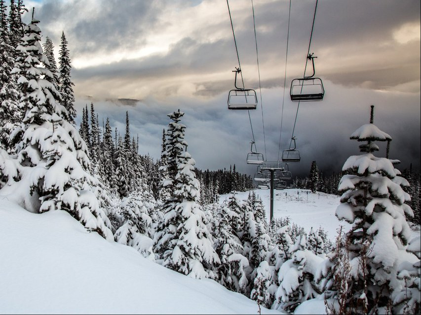 Whistler Shaping Up For Winter