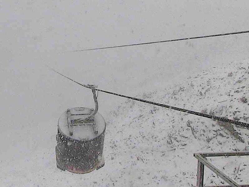 Montana Gets Snow