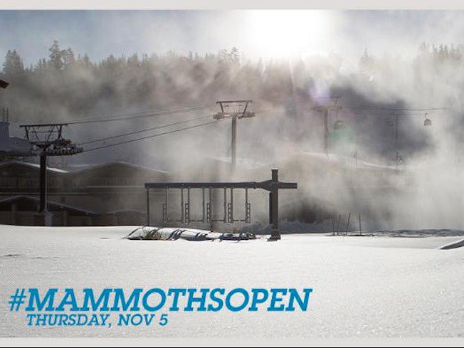 El Niño After All? - Mammoth Opening November 5th