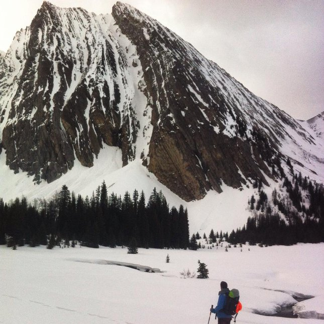 Mt Chester Couloir