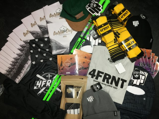 4FRNT Giveaway Contest #ourgoldendays