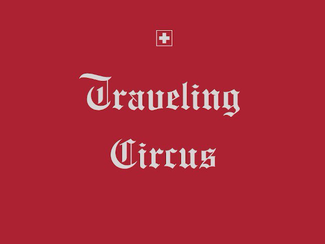"LINE Traveling Circus 8.2 ""Swiss Cheese-Socks"""