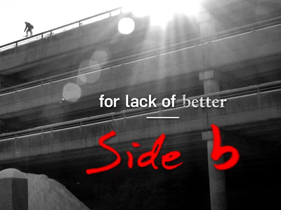 Cam Riley 'For Lack Of Better' Side-B