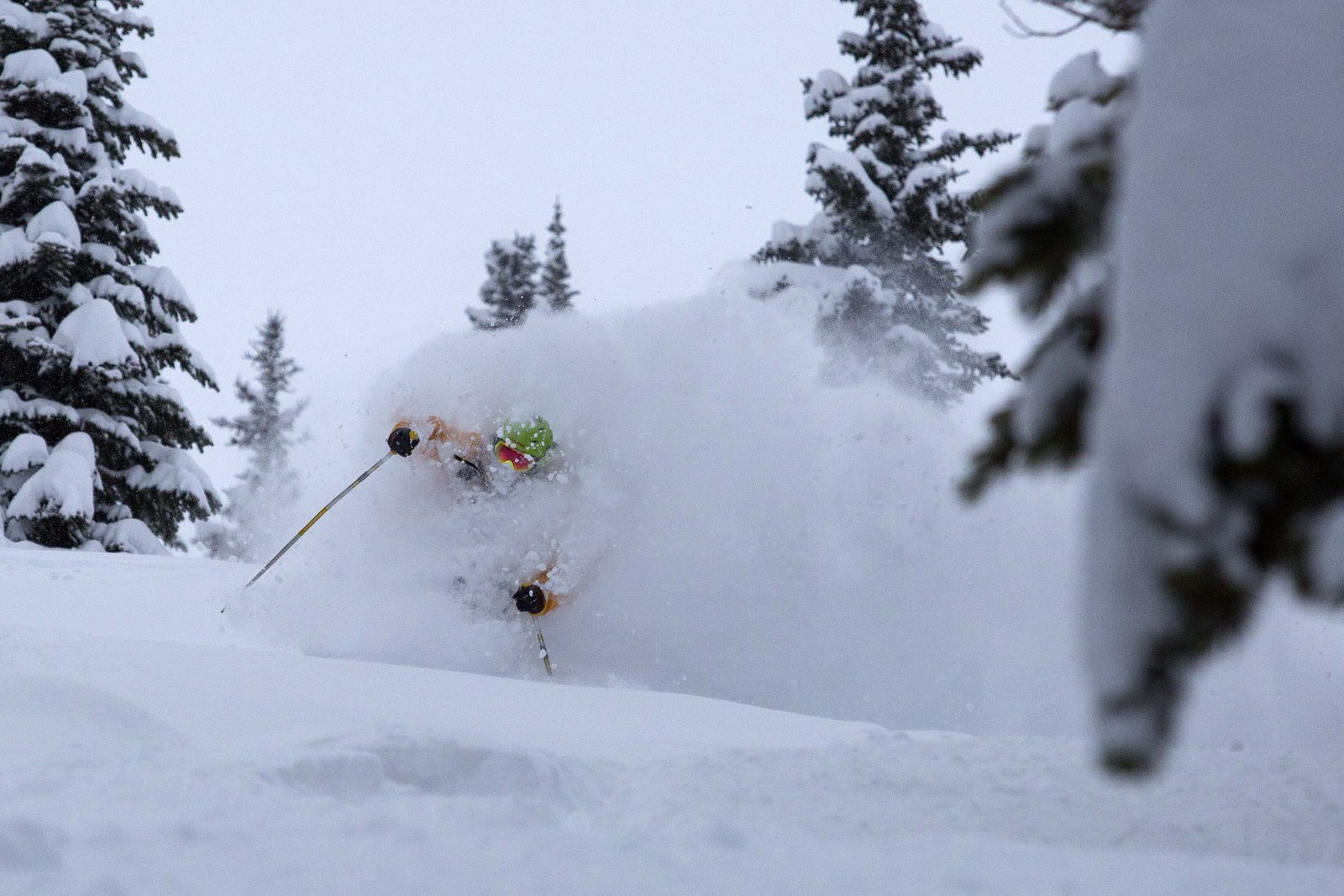 Lake Louise Pow