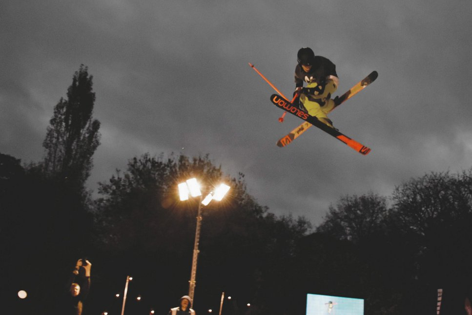 Big Air Ski Demo