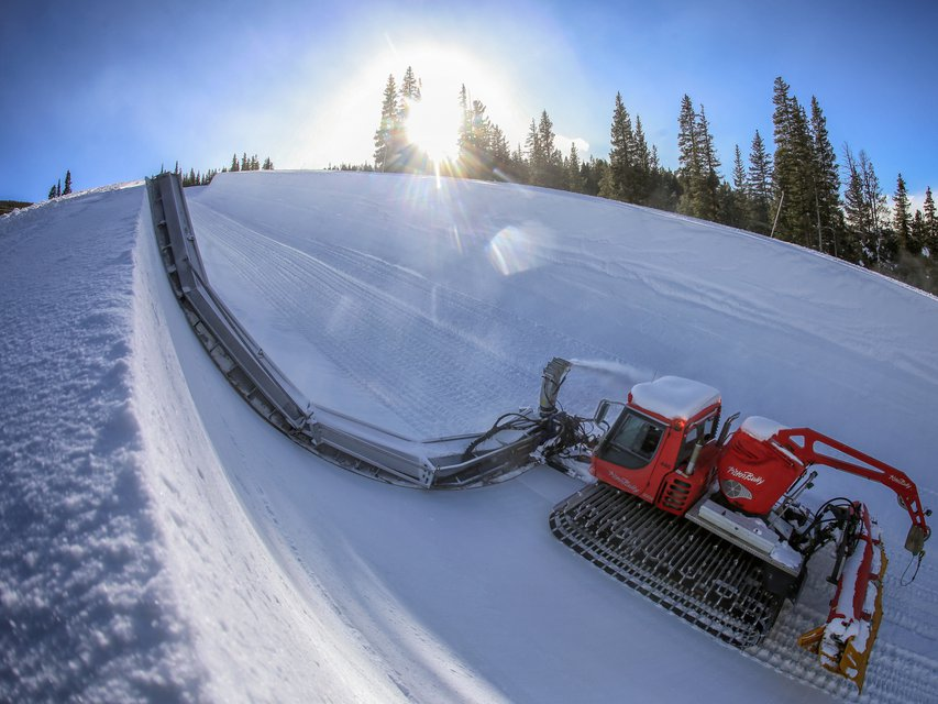 Main Vein Superpipe opens at Copper Mountain