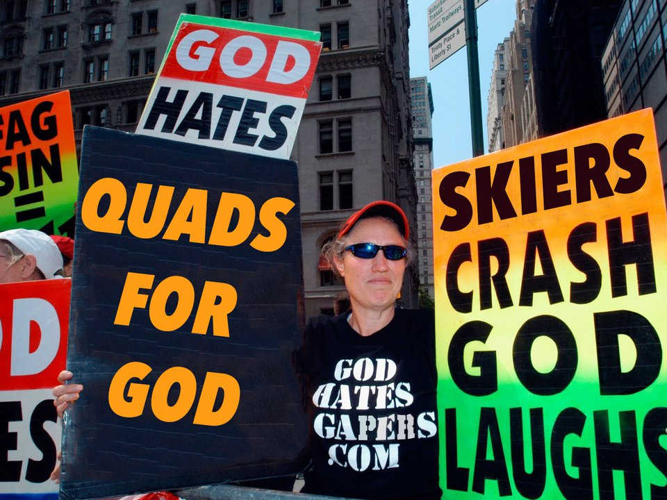 Westboro Baptist Church to Protest Dew Tour- Radical Radish