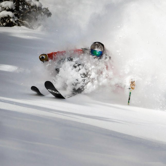 Plowing Powder
