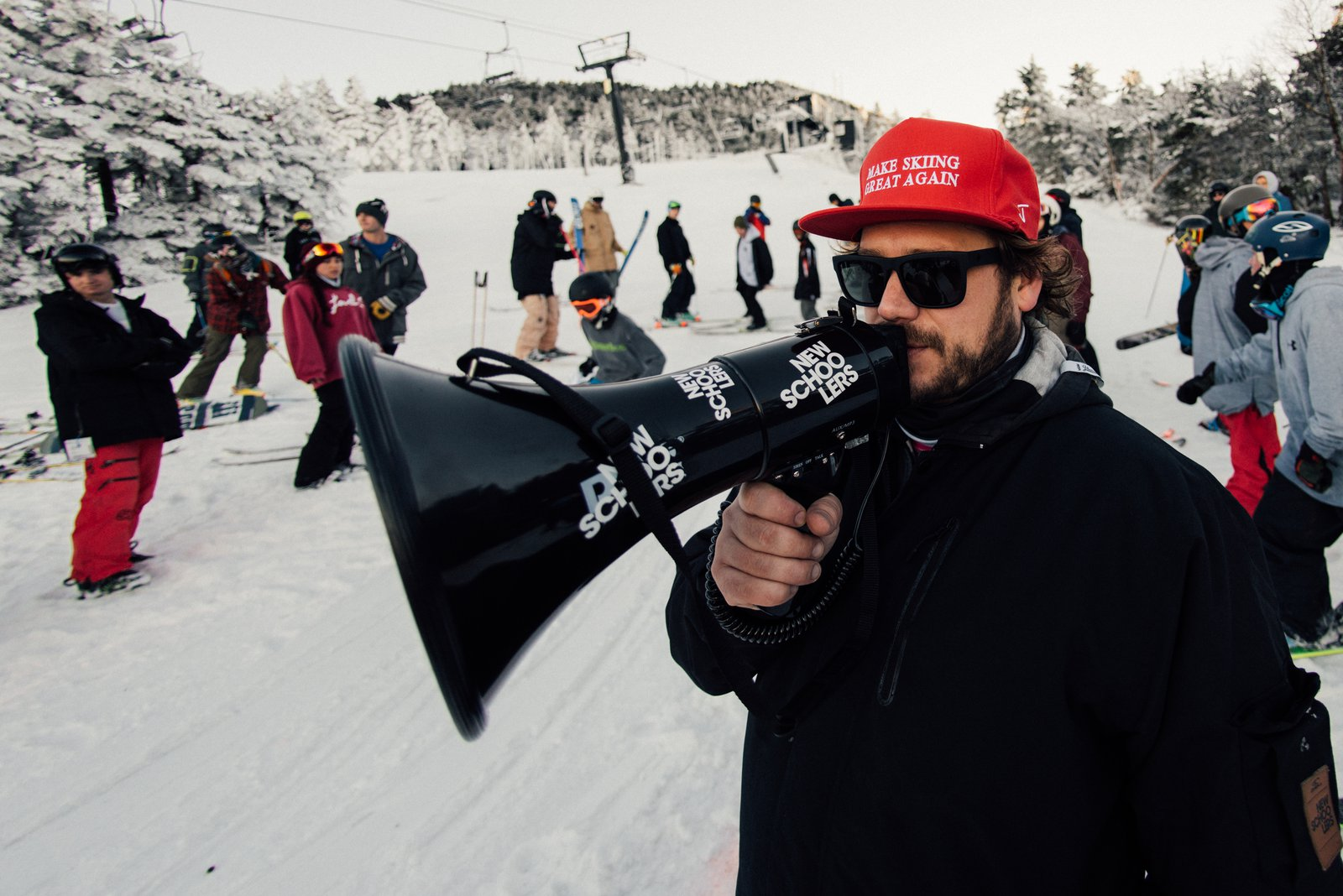 Mr. Bishop is Making Skiing Great Again