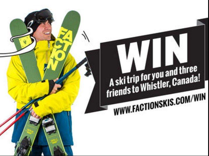 Faction Mega Comp: Win a ski trip to Whistler & more!