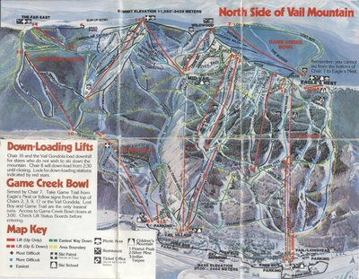 Trail Maps Then And Now: Mammoth, Vail & Killington - Newschoolers.com