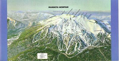 Mammoth Mountain California Map.Trail Maps Then And Now Mammoth Vail Killington Newschoolers Com