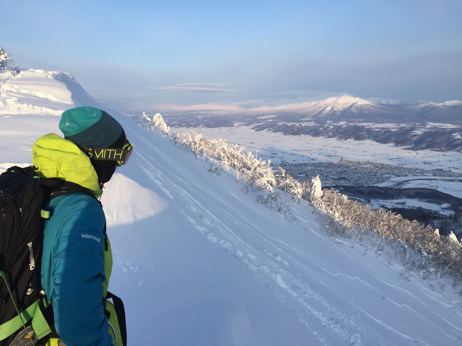 Scouting Lines off Nishi Furano