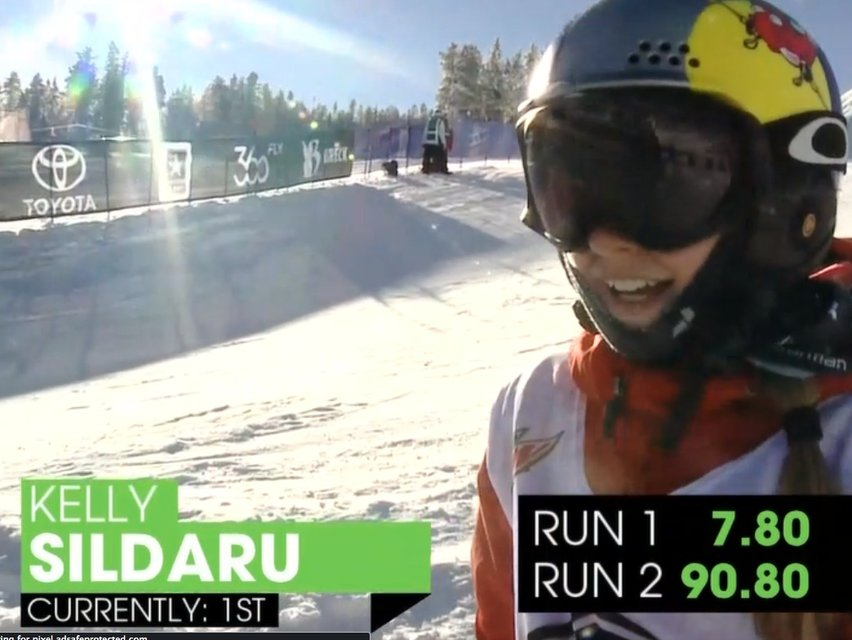 Dew Tour Women's Slopestyle Final Results